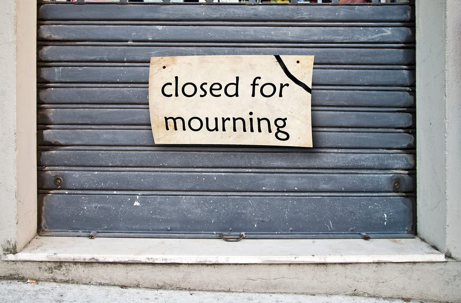 Closed for Morning