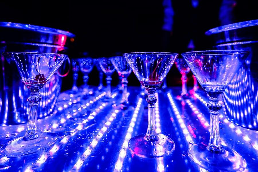 Bigstock empty glasses of alcoholic coc