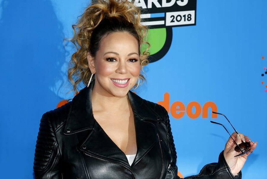 Mariah-Carey-at-the-Nickelodeon
