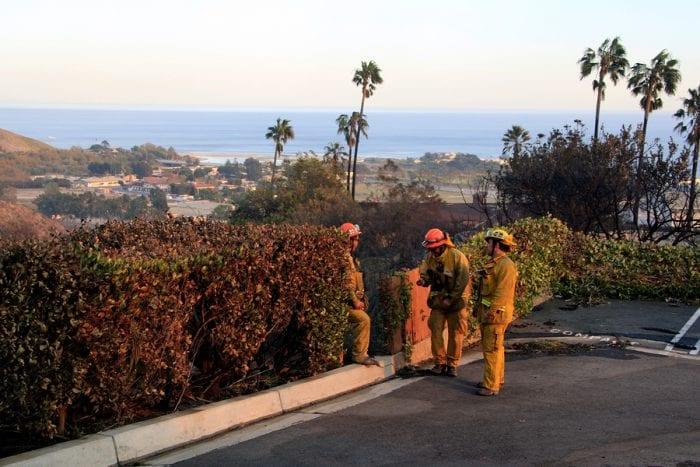 Bigstock Malibu Nov Firefighters
