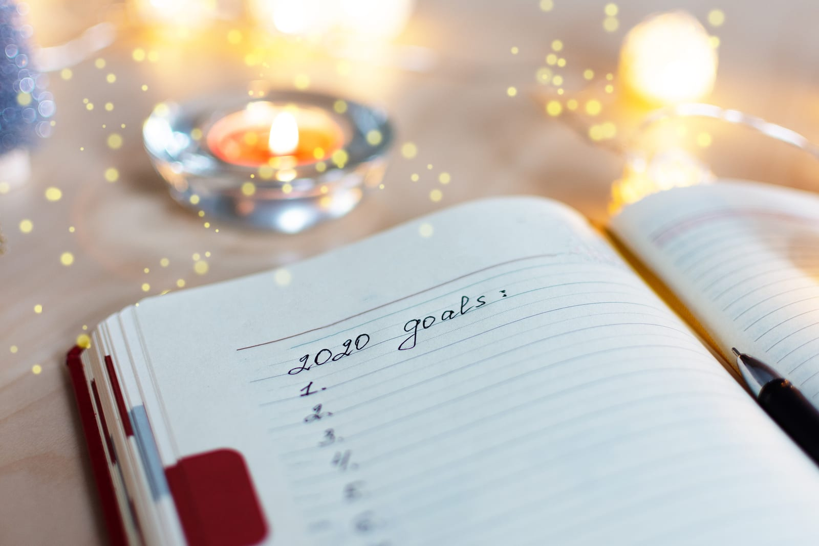 Bigstock New Year S Goals With Christma